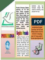 Leaflet Persadia