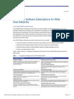 Cisco DNA Software Subscriptions