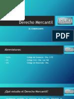 Derecho Mercantil El Co.