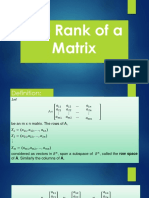 The Rank of a Matrix.pptx