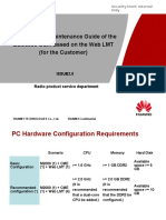 Operation and Maintenance Guide of the BSC6900 GSM Based on the Web LMT -C - DocFoc.com