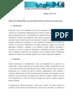 Ensayo 1 Proceso Administrativo