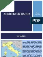PPT Arsitektur barok