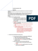 Obligation and Contract-extinguishment