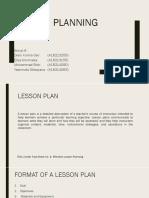 Lesson Planning Fix