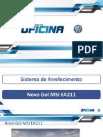 sistemas de arrefecimento novo gol MSI EA211