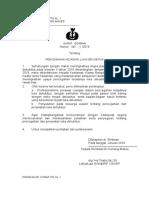 Surat Edaran Tentang PMKP