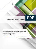 Certificate in Risk Management Brochure(1)