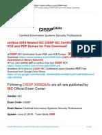 Pass Guarantee CISSP Exam By Taking Certbus New ISC CISSP VCE And PDF Braindumps