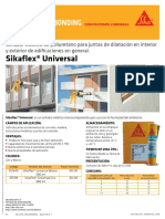 Boletin Sikaflex® Universal
