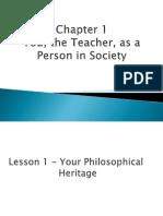 Teaching Profession 3 lesson 1