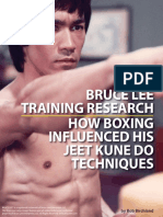 Bruce Lee -Training Research