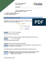 Calculo Diferencial 1