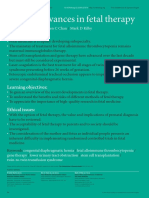 Fetal Therapy Journal