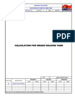 CVCalculation for Swage Holding Tank 11-9-14