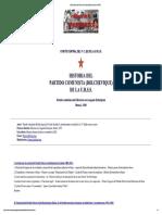 [MIA] Historia Del Partido Comunista (Bolchevique) de La URSS.