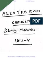 347 Aeeo Trb Exam Chemistry Study Material