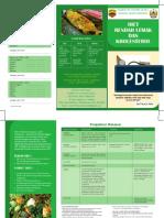 Leaflet Diet Rendah Lemak Dan Kholestrol