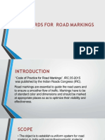 Road Marking Presentation