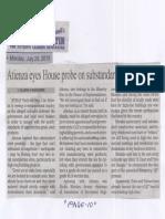 Manila Bulletin, July 29, 2019, atienza eyes House probe on substandard steel products.pdf