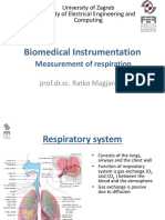 02 2018 Biomedical Instrumentation - Measurement of Respiration