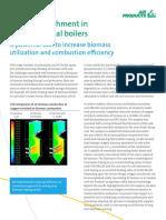 En Oxygen Enrichment in Pulverized Coal Boilers