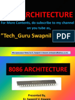 8086 Microprocessor Architecture By, Er. Swapnil V. Kaware