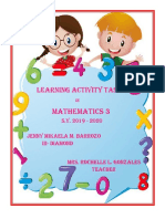 Activity Tasks in Math Cover