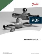 Ball Valve - Type GBC