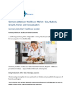 Germany Veterinary Healthcare  Market Size, Share, Insights, and Growth   Forecast 2025