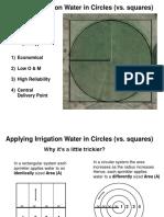 Center Pivot Irrigation Design