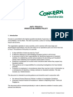 3. Concern Anti-Fraud Policy 2011 - Employee Version