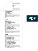 Daftar List Obat Generik.. Rak Kaca