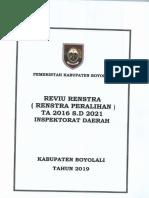 Reviu Renstra Inspektorat Daerah Kab Boyolali