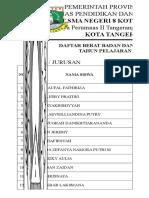 Daftar Berat Dan Tinggi Badan