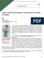 Terminación por falta deobjeto - El rincón jurídico de José R. Chaves - delaJusticia.pdf