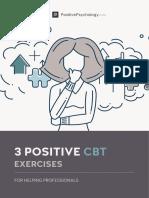 3 Positive CBT Exercises