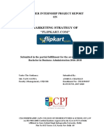 Marketing Strategy of Flipkard