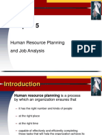 HRP & Job Analysis