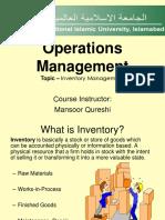 Inventory Mangement