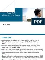 Cisco EoC Introduction