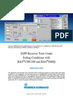 3GPP Receiver Tests