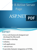 Chapter 8 ASP.net