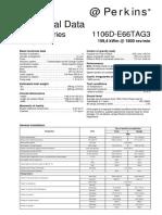 Perkins 1106D Technical Data