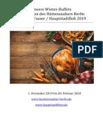 Winterbuffets 2019