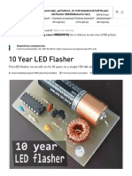 10 Year LED Flasher - Hackster.io
