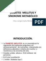 Diabetes Mellitus y Síndrome Metabólico