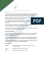 NET Sample Resume 2