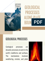 Geological Events Along Plate Boundaries