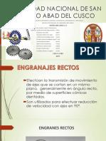 ENGRANAJES RECTOS